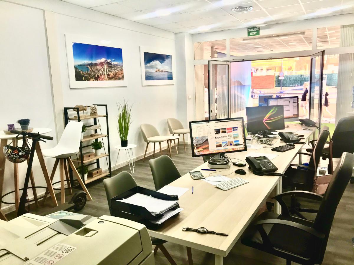 oficina para alquilar su casa en benidorm